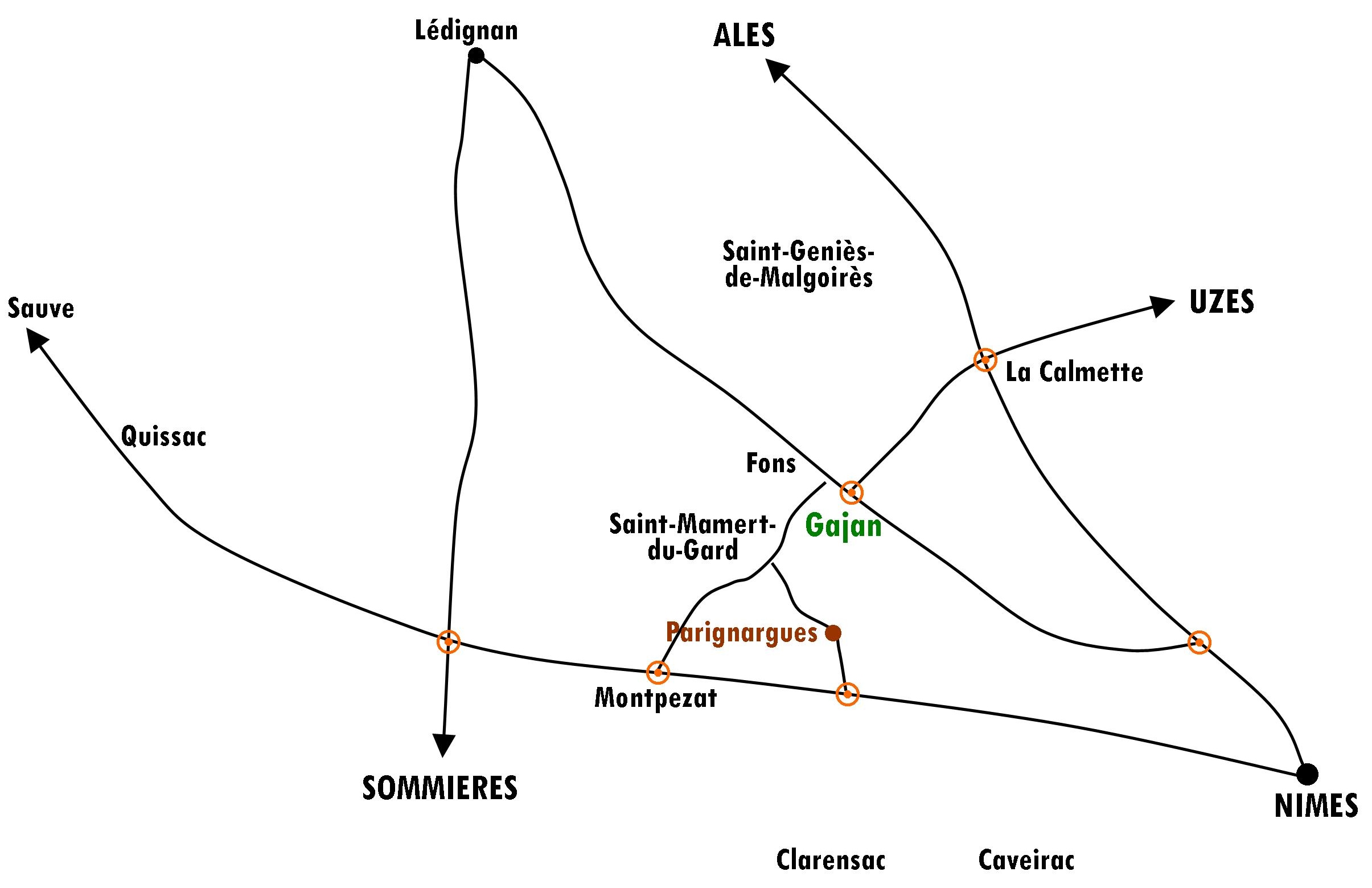 Plan CC - Gajan